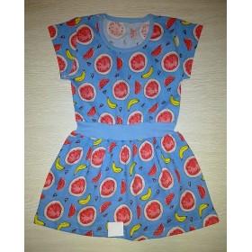 Платье Арбуз цв.голубой р.30; 32