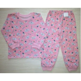 Пижама кулир рис. Sweet цв. розовый р.34