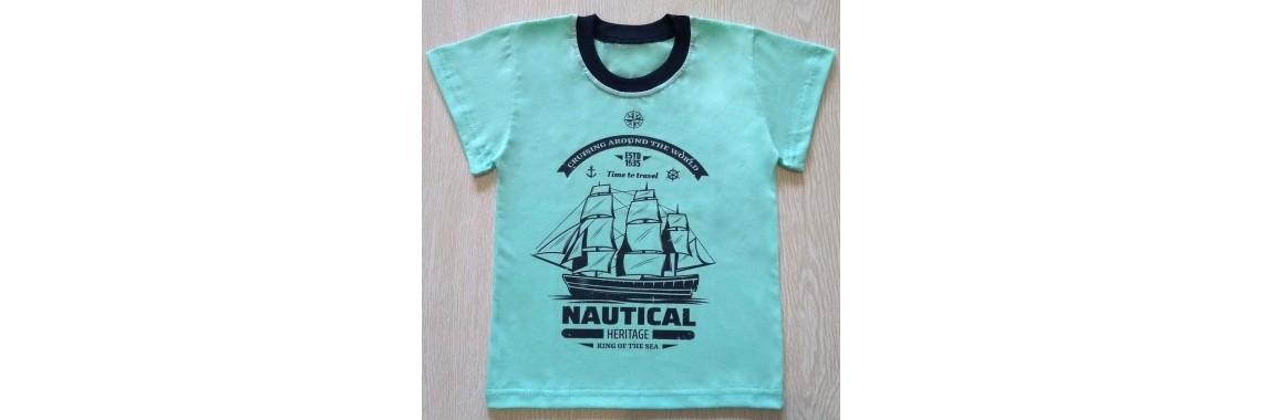 футболка корабли